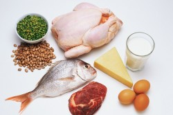 Белковая пища животного происхождения - основа диеты Дюкана