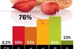 Содержание витаминов и минералов в арахисе