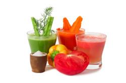 Овощные соки во время помидорной диеты