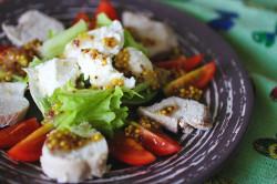 Творожный салат при тибетской диете