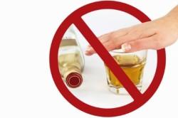 Отказ от алкоголя во время индивидуальной диеты