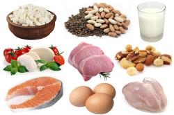 Белковые продукты при диете
