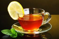 Употребление несладкого чая во время диеты