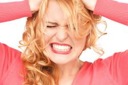 Стресс - причина демодекоза лица