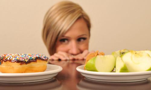 Выбор пищи во время диеты