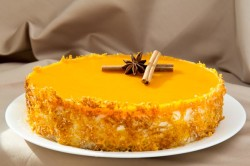 Тыквенный десерт при диете