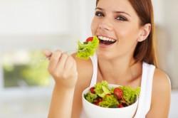 Соблюдение диеты, входящей в схему похудения с золотой иглой
