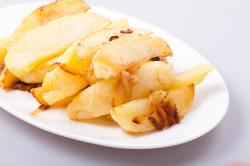 Исключение из рациона жареного картофеля при диете до 12