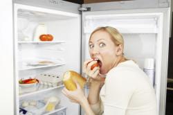 Переедание - причина лишнего веса