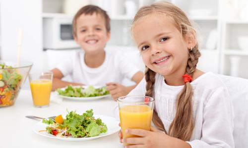 Правильное питание для дошкольников