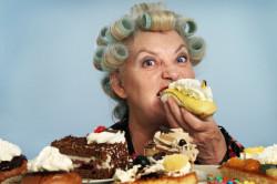 Заедание стресса сладкими пррдуктами