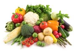 Свежие овощи для похудения