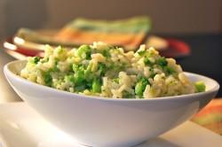 Рис с брокколи для похудения