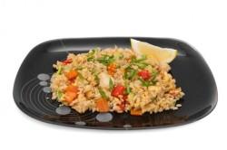 Жирное рисовое блюдо - противопоказание для снижения веса