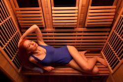 Посещение инфракрасной сауны для похудения