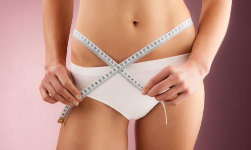 Идеальная талия девушки после диеты