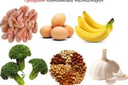 Повышающие тестостерон продукты
