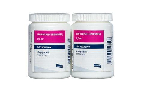 Прием Варфарина при сердечно-сосудистых заболеваниях
