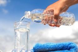 Питье большого количества воды при диете