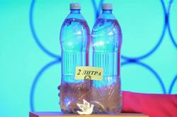 Более двух  литров воды в день для обменных процессов