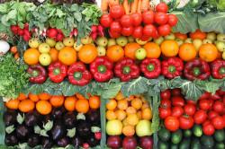 Фрукты и овощи для диеты