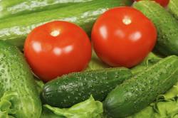 Огурцы и помидоры при диете Дюкана