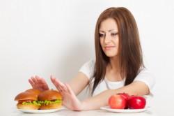 Отказ от фастфуда во время диеты