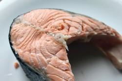 Отварная рыба во время диеты на какао