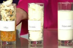 Один прием пищи по объему равен стакану