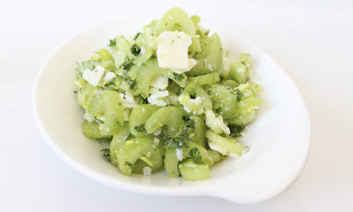 Салат из сельдерея для сброса веса
