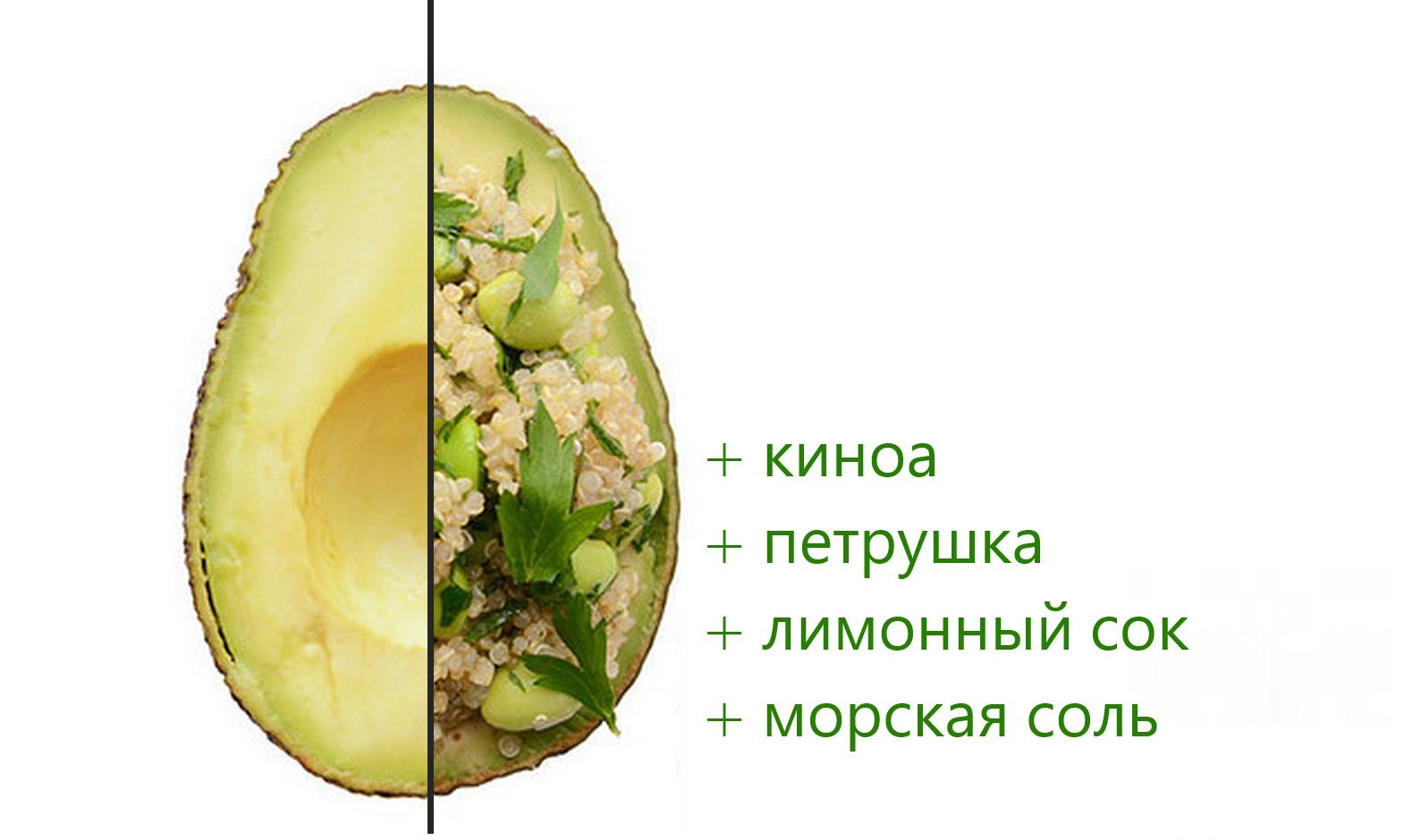 сочетание продуктов для похудения рецепты