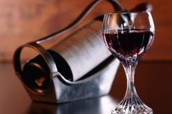 Сухое вино во время диеты