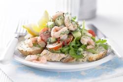 """Салат """"Морской"""" для легкого ужина"""
