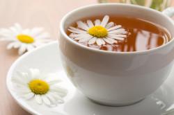 Чай из ромашки при гастроэнтерите