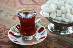 Сладкий чай перед сдачей крови