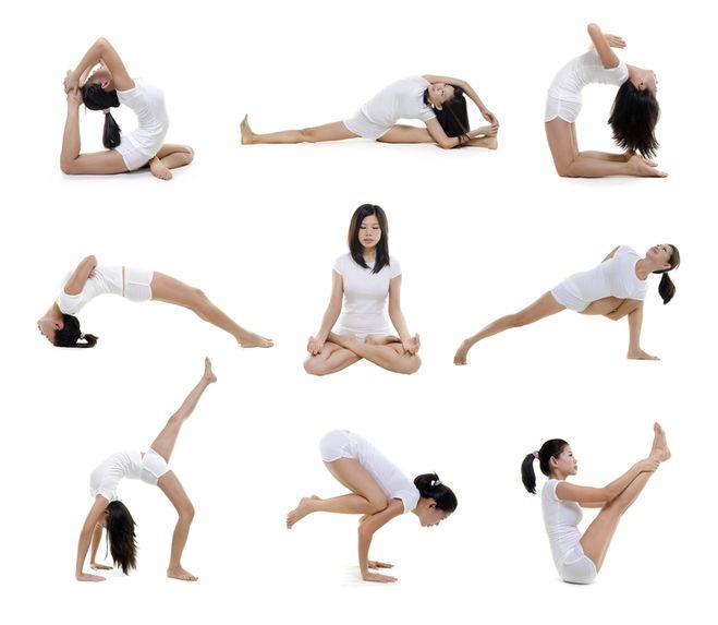 йога картинки для похудения