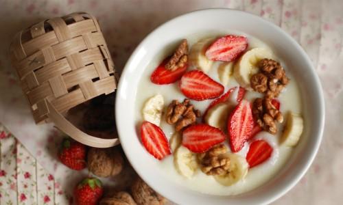 Соблюдение диеты на манной каше