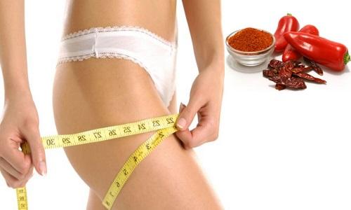 Использование кайенского перца для похудения
