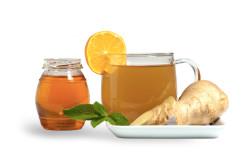Имбирный напиток с медом и лимоном для похудения