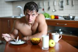 Быстрый рост мышечной массы при белковой диете