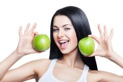 Яблоки при гречневой диете