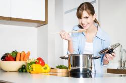 Приготовление гречки с овощами на завтрак