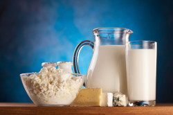 Молочные продукты при диете для зачатия
