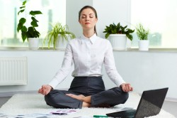 Расслабление перед приемом контрастного душа