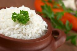 Рис при индийской диете