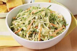 Салат из капусты для быстрого похудения