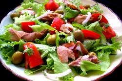 """Салат """"Быстрый"""" для легкого ужина"""