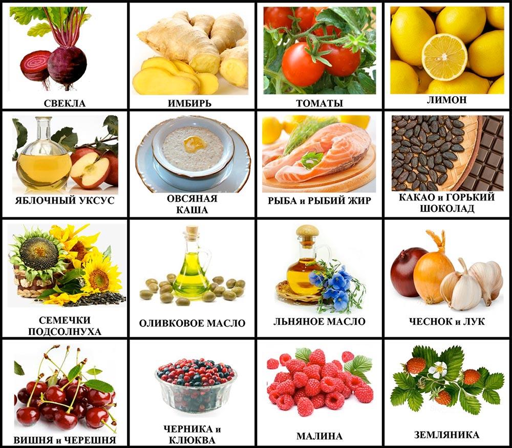При какая вен болезни диета