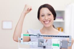 Постепенное снижение веса на диете по часам