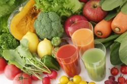 Соки из фруктов и овощей при дуодените